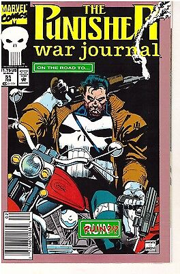 The Punisher War Journal  # 51 - February 1993 - Marvel Comics