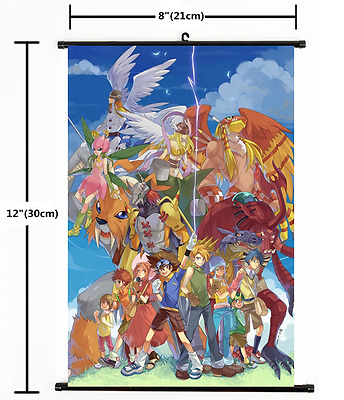 Anime Digimon Adventure Wall Scroll Poster cosplay 1666