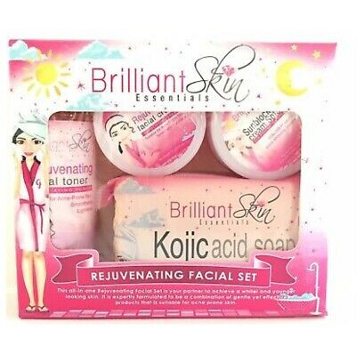NEW! Brilliant Skin Essentials Rejuvenating Facial Set Authentic USA Seller