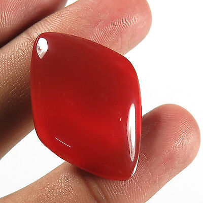 Gorgeous 30.10 Cts Natural CARNELIAN Gemstone Fancy Cabochon 34x24 mm Best Offer