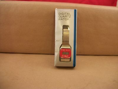 "Vintage Coca Cola ""Coke Is It"" Digital Quartz Watch - Made in Hong Kong"