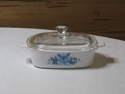 Vintage Corning Ware Blue Velvet A-1-B Casserole with Lid