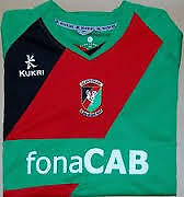 GLENTORAN FC Irish League 2011/12 SHIRTS KUKRI FONACAB NORTHERN IRELAND
