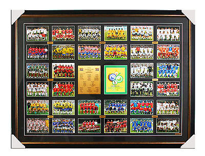 FIFA -  World Cup Germany 2006 Framed Poster - All Teams RARE