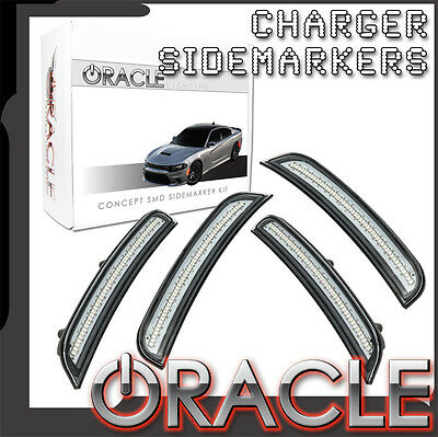 2015-2017 Dodge Charger ORACLE Concept LED Tinted / Smoked Sidemarker Set