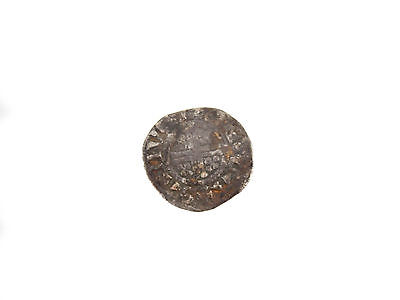 Hammered Sterling Silver Coin Short Cross Penny King John Medieval England