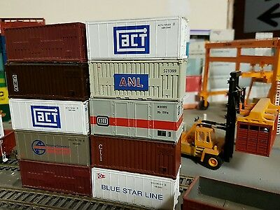 Shipping Containers Ho Scale
