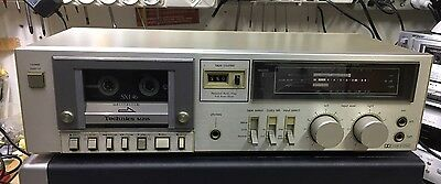 Technics M215 M piastra cassette tape deck full logic