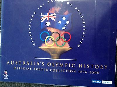 Australia's Olympic History Official Poster Collection 1896-2000