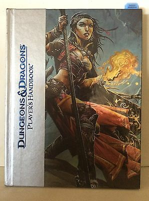 Dungeons & Dragons Players Handbook Deluxe Ed. Role Playing 2008 RPG