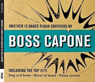 Boss Capone - Another 15 Dance Floor Crashers CD Grover NEU