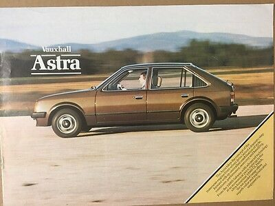 Car Brochure - 1981 Vauxhall Astra - UK