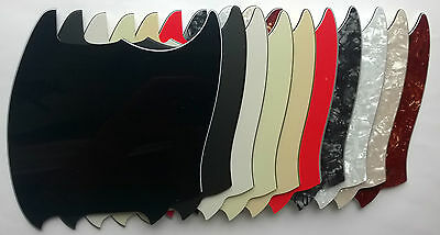 Mustang Pickguard Blank to fit US spec: various colours: 1 3 & 4 ply