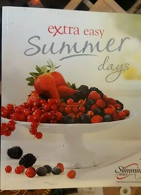 Slimming world extra easy summer days book
