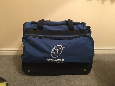 Nottingham Rugby RFC Player Issue Match Day Bag Wheelie