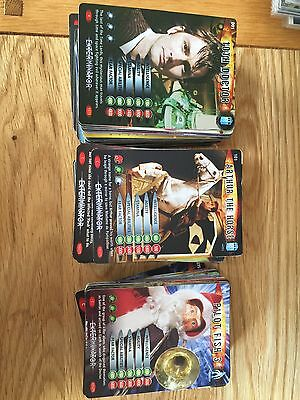 Doctor Who Exterminator & Annihilator Trading Cards Full Sets