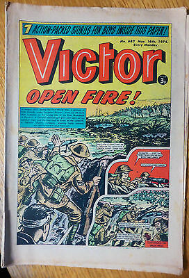 The Victor (UK Comic) - Issue #682 (16th March 1974)