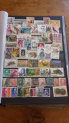 62 timbres Espagne (lot 9)