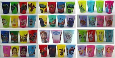 Disney Trinkbecher-Sets Cars, Nemo, Minnie, Paw Patrol uvm. 3- oder 4-teilig