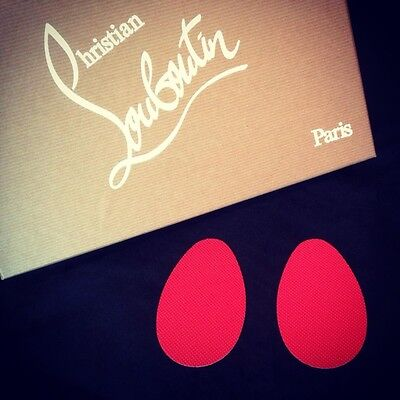 1 Pair Red Sole Protectors For Christian Louboutin Shoes