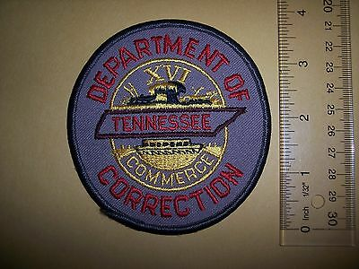 TN Tennessee Department of Correction Police Sheriff Patch NEW