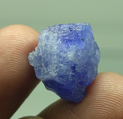 "CERTIFIED 21.00Ct D""BLOCK TANZANIA MINE TANZANITE FACET GEMSTONE ROUGH # L-87"
