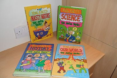 Four Foul Facts Childrens Hardback Books
