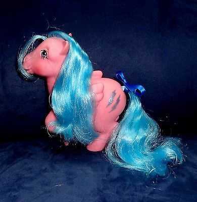 Rose: My Little Pony Vintage Long-Hair, Curly-Hair Firefly #2 EXCELLENT G1