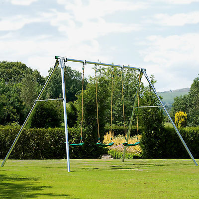 Tp Giant Triple Metal Swing Set - Collection Only