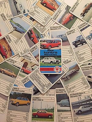 Quartett - BMW kontra Mercedes - ASS - Nr. 3271 - 100% complete Card Game
