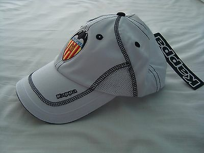Valencia C.F. baseball Cap Hat. New with Tags. Official Product.