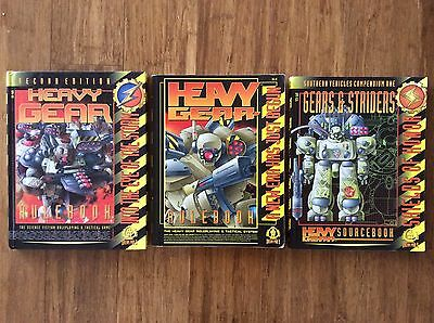Heavy Gear - Roleplaying Game - Set of 3 RPG
