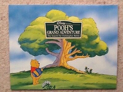 Disney Store official Winnie The Pooh Lithographs 4 Pictures Suitable To Frame