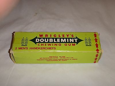 Vintage Wrigley's Doublemint Gum Advertising-2 Men's Hankerchiefs