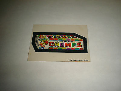 1973 1973-74 Topps Wacky Packages Trading Card Series 5 Chumps