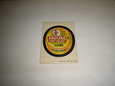 1973 Topps Wacky Packages Original Trading Card Series 4 Escuire Foot Polish