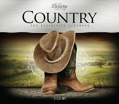 Various - Country-Luxury Trilogy CD (3) Music Brokers NEU