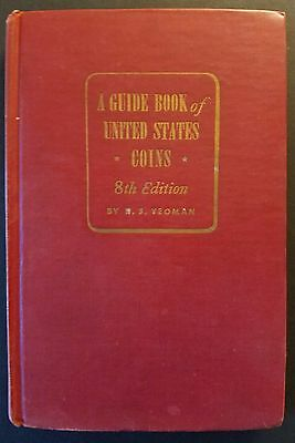 A Guide Book of United States Coins, 1954 8th edition