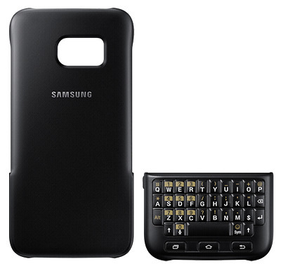 Samsung Keyboard Cover f Galaxy S7 schwarz NEU