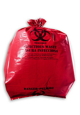 "20""x18""x45"" Hazardous Material/Infectious Waste Bag"