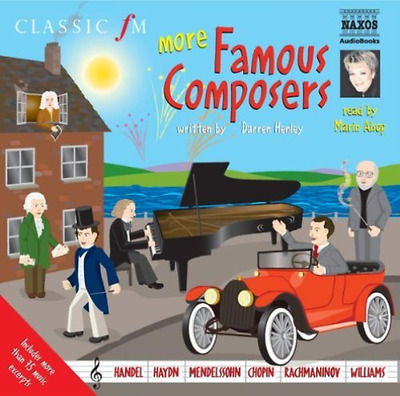 Darren Henley-More Famous Composers  (Us Import)  Cd New