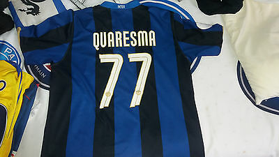 Maillot Inter Milan, Quaresma, taille XL, Internazionale