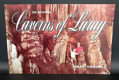 Caverns Of Luray Brochure Booklet, Luray Virginia, Jan16