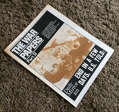 The War Papers - Issues 51 to 60 - Hitler Dead, VE Day, Churchill Resigns - WWII