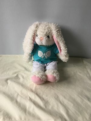Chad Valley Design A Bear Rabbit Bear Soft Toy With T-Shirt & Trousers