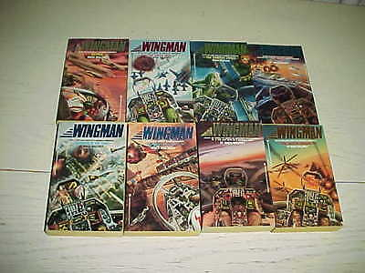 Lot 8 Book Wingman Mack Maloney Soviet Military Action CIA War Nuclear Hero