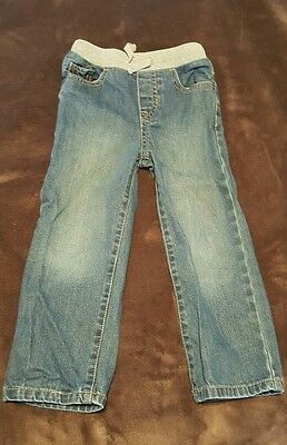 Childrens Place Boys Blue Jeans Size 4T Toddler Straight fit