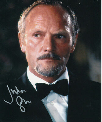 Julian Glover SIGNED photo - J816 - Aristotle Kristatos - James Bond