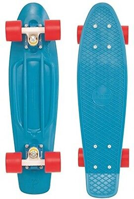 Penny Complete Skateboard - Red/blue/white