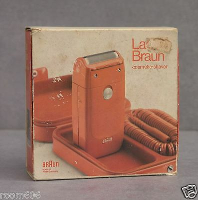 Lady Braun Cosmetic Shaver - 70er Jahre - mit Anleitung & OVP